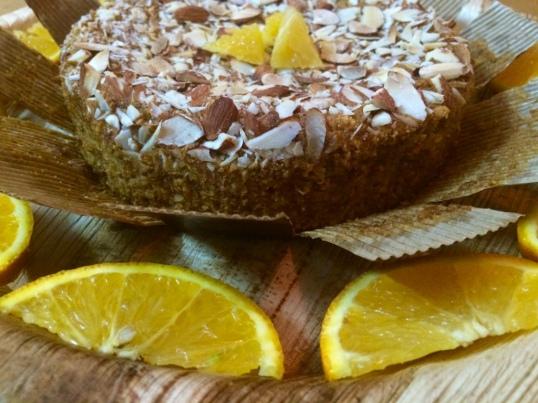 Taantraa Aromatic Orange Almond Cake