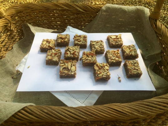 Taantraa Almond Blondies