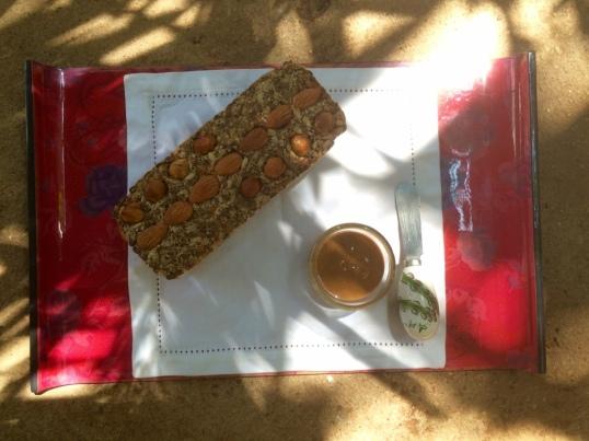 Taantraa Nuts & Seed Bread with Taantraa Almond Butter